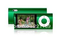 1pcs fast Free shipping Hot sale 16GB 5th 2.2 inch MP3 MP4 Player,touch screen button,mix color
