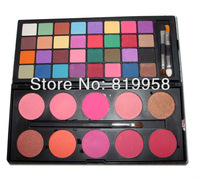 Free Shipping!! 42 Colors Matte Eyeshadow Cosmetic Sets Blusher Palette