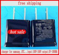 FREE SHIPPING  Full 1A+100% USB Wall travel charger for Samsung Galaxy S4 I9500 S3 i9300 I9100 N7100 I9082 S5830 I9220 I939