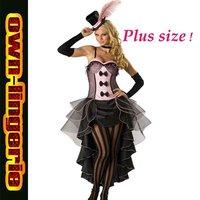 plus size pink dress party dance costume s to xxxlsize
