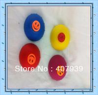 Free ship  hip hop pops ball bouncing disc jump pop ball half rubber bouncing ball