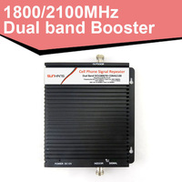 DCS/WCDMA-BK 1800/2100MHz signal amplifier coverage 2000 sq.m. mobile signal booster dual-band repeater