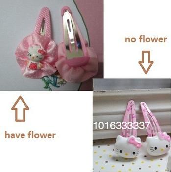 Fashion Jewelry Cute Baby Children Kids Headwear/ kitty Cat Hair Barrettes / Girl's Barrettes/  Hair Accessories/ Free Shipping
