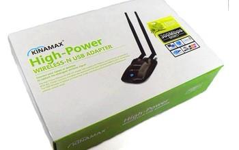 kinamax Password cracking,Free WIFI 300M 11N High Power 500mw Wireless WIFI USB adapter,high power wifi lan card Free Shipping