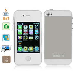 Sicphone 5 White, Java Bluetooth FM function 3.2 inch Touch Screen Mobile Phone, Dual band, Network: GSM900/1800MHZ(China (Mainland))
