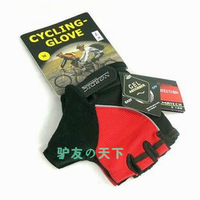Free shipping!Nordic semi-finger gloves cycling gloves thickening  silica gel gloves bicycle gloves climbing gloves