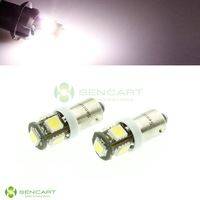 BAX9S 2.5W 380lm 7200K 5-SMD 5060 LED White Light Car Steering / Backup Light