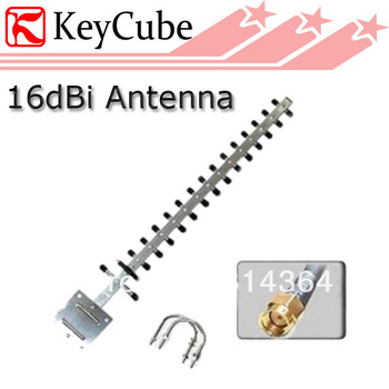 NEW Gain 802.11b/g 2.4GHz 16dBi Directional Yagi Antenna RP-SMA Female Connector Free Shipping