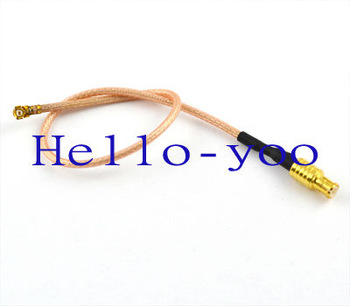 Free shipping 2pcs/lot Extension Cord MCX male plug to ufl/IPX female Jack connector pigtail cable RG178 15cm