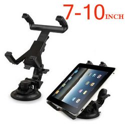 For iPad / Tablet PC / GPS Multi-Direction Car Mount Headrest Holder Bracket Clip 7-10inch, Free / Drop Shipping(China (Mainland))