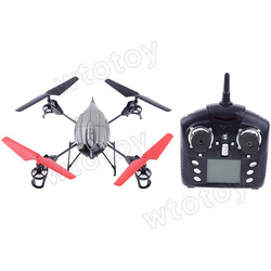 WL V959 2.4G 4-Axis 4CH RC Quad Copter Helicopter with Camera 20495(China (Mainland))