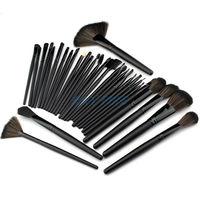 Big Promotion! 32pcs 32 pcs Cosmetic Facial Make up Brush Kit Makeup Brushes Tools Set + PU Leather Case