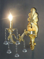 freeshipping luxury crystal wall candle lighting sconces sales list
