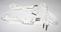 5pcs/lot 3.5mm Male to Male Stereo Audio 1M Extension speaker Cable for mp3 mp4 Speaker Mobil phone Etc