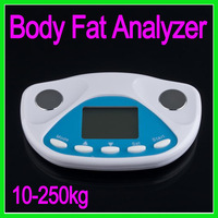 Free shipping - Digital LCD body fat monitor Analyzer Monitor Weight Loss Tester Controller BMI Measure