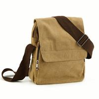 Mumiangu  Capoc trend school bag canvas  man bag  vintage shoulder bag 718