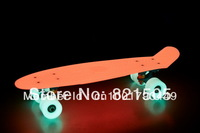 BLANK BRAND 22inch COMPLETE PENNY SKATE BOARD with Glow in the dark