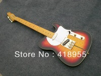 f Telecater TUFF DOG TELE Sunset Burst Electric guitar with Gold Hardware in stock free shipping