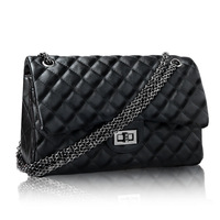 2013 hot sale ! free shipping ! super deal ! Women's spring plaid chain one shoulder bag vintage handbag  418