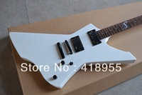 New Arrival China guitar factory Snakebyte Electric Guitar WHITE with ESP