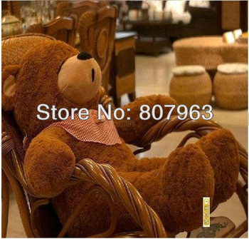 Free shipping!4colors,plush toys,160cm teddy bear with filler.1.6Meters,2013 newest pink teddy
