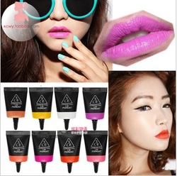 New arrival lip gloss palette cream small charming 8 mix match multi-purpose eye shadow blush lip gloss cream(China (Mainland))
