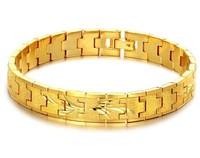 Elegant gold bracelet US/UE style bride bracelet 18k gold bracelet for women,free shipping