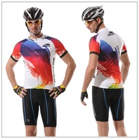 Free shipping Name brand cycling wear with Reflective strips short sleeve CoolDry fabric cycling jersey, cycling sportwear D-003