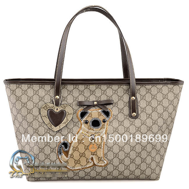 Hot Sale! Classic/fashion Design Dog women's pvc High Quality Handbag Totes Free shipping(fashion store))(China (Mainland))