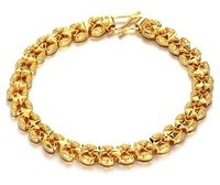 2013 NEW chain LADY shinning gold bracelet for women gift star18k gold jewelry charm bracelet for lady free shipping