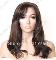 FREE SHIPPING hot selling # 4/27 HL Synthetic Lace Front wig Light Yaki