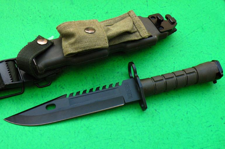Рассматривая варианты различных ножей для выживания наткнулся на штык-нож о