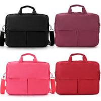 Brief elegant 13 14 laptop bag male women's one shoulder handbag