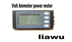 NEW AC Digital LED power meter monitor Voltage KWh time watt energy Volt Ammeter(China (Mainland))