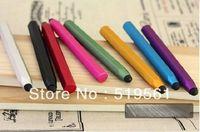 500pcs Low Price Wholesale High Sensitive Hexagonal Pen Body Style Touch Pen Stylus Pen 9 Colors DHL EMS Free Shipping