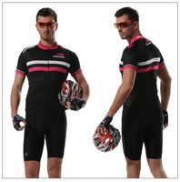 Free shipping Anti-Bacterial,Breathable man cycling jersey with professional Pattern bicycle clothing short-sleeved suit   D-027