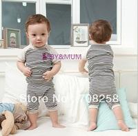3 sets- Baby Boys' Clothes Set, Short Sleeve T shirt and Pants, kids Children suits set 16