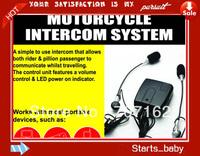 Universal Motorcycle Helmet Intercom 2-Way Headset Mic  free shippng by DHL or Fedex 10pcs a lots
