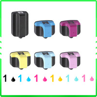 6 pcs New Compatible ink cartridge for Photosmart Printer C5180 C6180 3310 3210 HP 02/02XL HP02