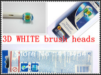 Electric toothbrush head EB18-3 3DWhite Health care toothbrush head (3pcs=1pack)150pcs/lot Free Shipping