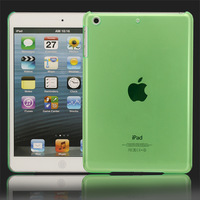 High Quality! Light Green Super Slim Hard Back Case Cover Skin House Protector For Ipad Mini, Free & Drop shipping