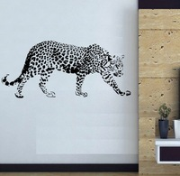Free shipping Wall Decal Wall Stickers Wall  Decor Vinyl Removable wall Art Mural  Leopard 2#