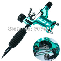 Professional Green Dragonfly Rotary Tattoo Machine Shader & Liner Orange Color Tatoo Motor Gun Kits Supply For Artists