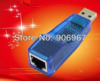 DHL Free shipping 300pcs/lot External USB 1.1 to RJ45 Ethernet 10/100 Mbps Network Card Adapter LAN