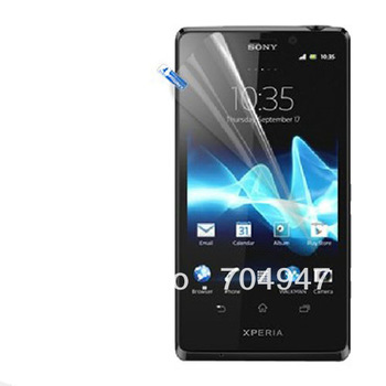 6pcs New CLEAR Skin LCD Screen Protector Cover Film For Sony LT30p Xperia T