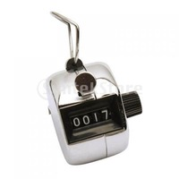 Free Shipping 4 Digits Hand Held Tally Counter Numbers Clicker