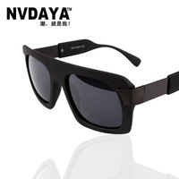 Nvdaya2012 male sunglasses lady gaga glasses female elegant box sunglasses