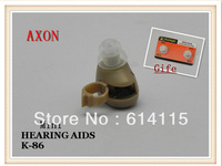 AXON K-86 Hearing Aids aid  New High quality cozy mini convenient pocket Small and  portable Sound Amplifier Free Shipping