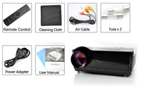 Free shipping 3000 lumens HD home theater projector