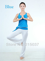 Excellent style yoga suit for pretty ladies, exercise gym fitness wear, leisure casual clothes Free shipping